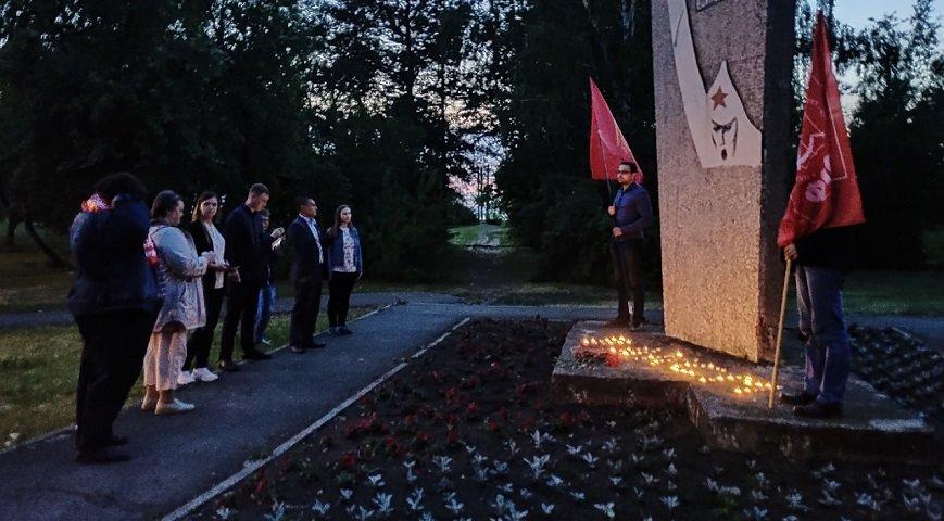 В Перми прошла акция «Свеча памяти»