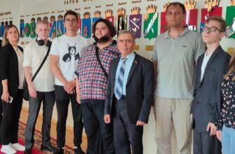 Пермские комсомольцы встретились с депутатом Законодательного Собрания