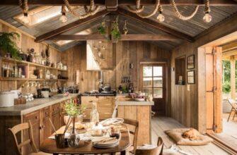 Современный деревенский дом